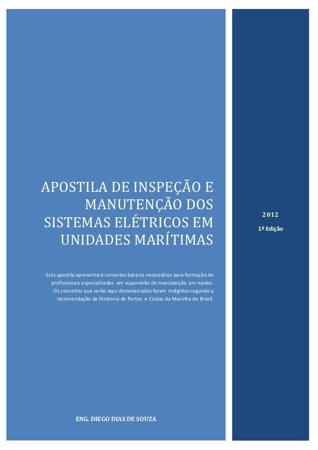 APOSTILA DE INSPEÇAO E      MANUTENÇAO DOS                                                        2012SISTEMAS ELETRICOS E...