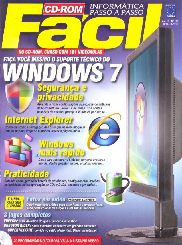 Curso de suporte técnico do windows 7