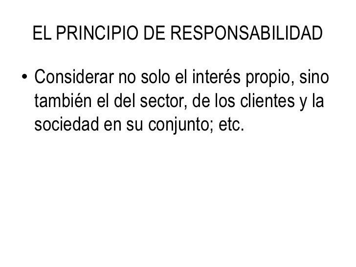 ante su Profesión<br />Absteniéndose de ofrecer sus servicios a clientes de otro colega. Sin embargo, tiene el derecho de ...