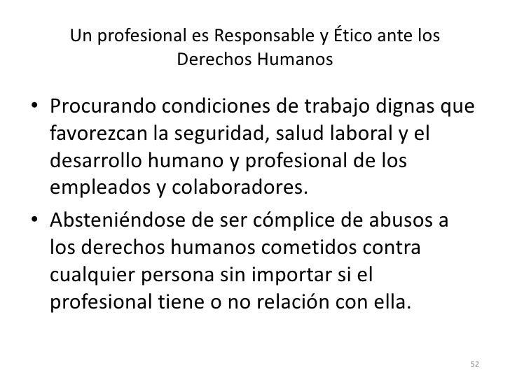Código oficial de ética <br />Este código deontológico rige el comportamiento ético del individuo en las empresas y en las...