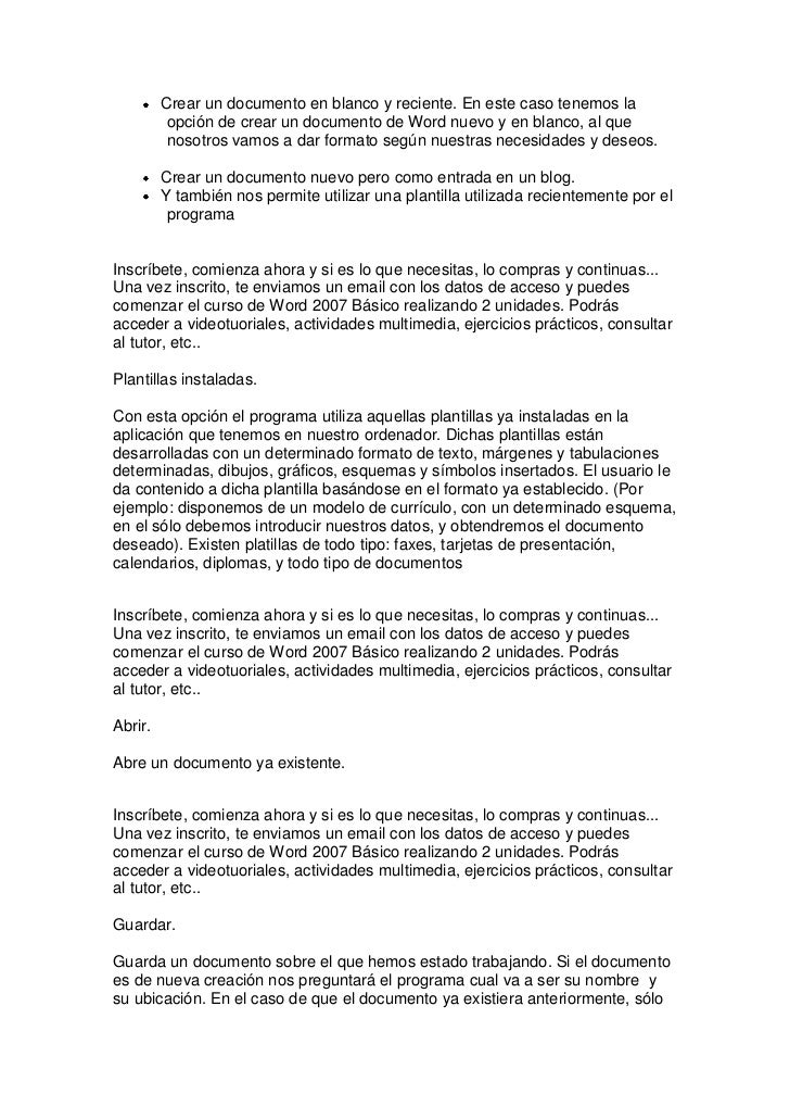 Curso de word 2007 básico Slide 2
