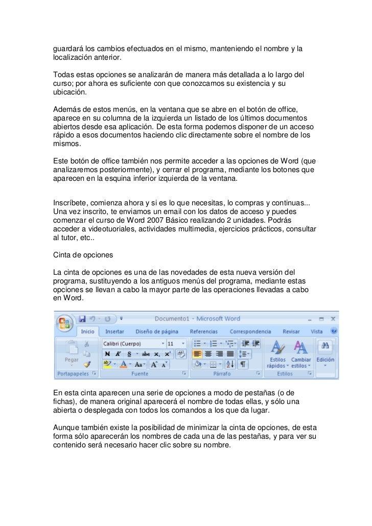 Curso de word 2007 básico Slide 3