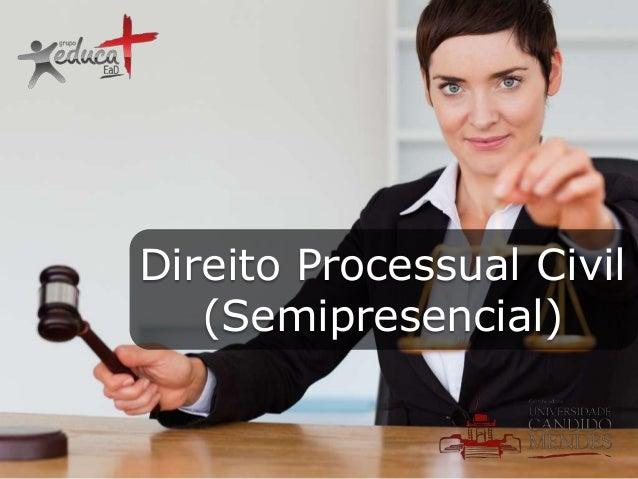 Direito Processual Civil (Semipresencial)