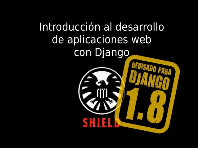 , Introducción al desarrollo de aplicaciones web con Django
