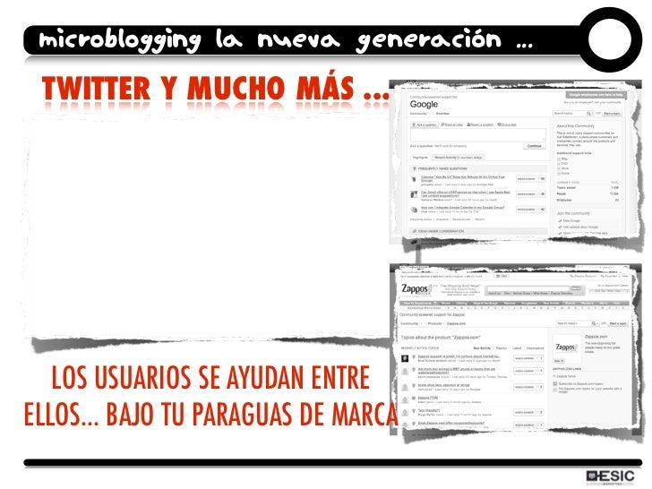microblogging la nueva generación ...  TWITTER Y MUCHO MÁS ...        LOS USUARIOS SE AYUDAN ENTRE ELLOS... BAJO TU PARAGU...