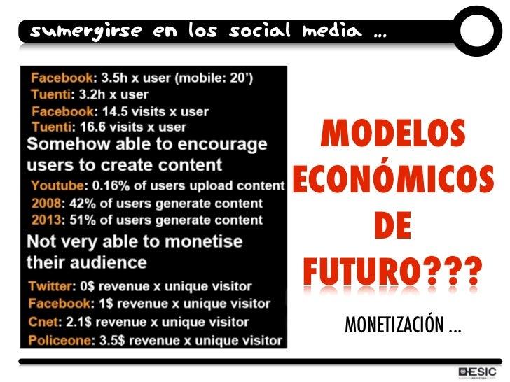 SUMERGIRSE EN LOS SOCIAL MEDIA ...                               MODELOS                         ECONÓMICOS               ...