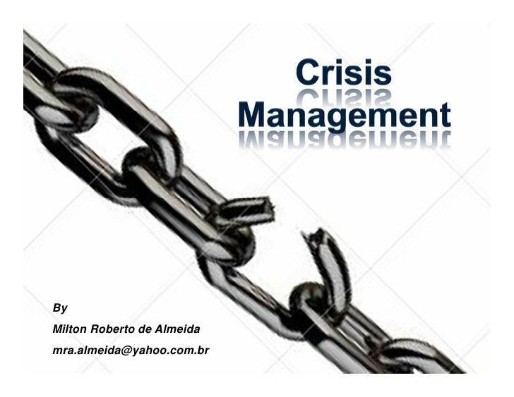 ByMilton Roberto de Almeidamra.almeida@yahoo.com.br                            1