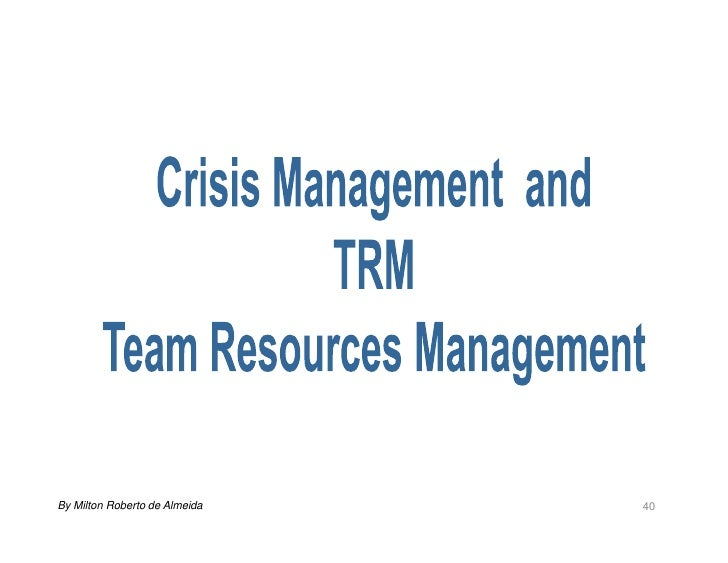 crisis management tenerife Weick's (1988) paper, 'enacted sensemaking in crisis situations', appearing as  part  as weick's work on the bhopal accident (w88 weick, 2010), the tenerife.