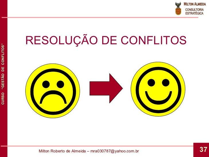 RESOLUÇÃO DE CONFLITOS L J