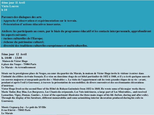 Curso Grand Tour En Europe Erasmus Plus Maria Nieves