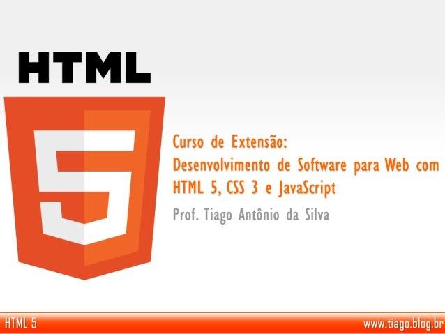 • Tiago Antônio da Silva – Tecnólogo em Informática para Gestão de Negócios – Fatec Mococa (2010). – 7 anos de experiência...
