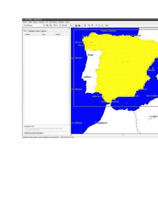 Después de un buen rato, pues es mucha información a transferir, ya podremos ver los mapas en nuestro GPS. Es importante p...