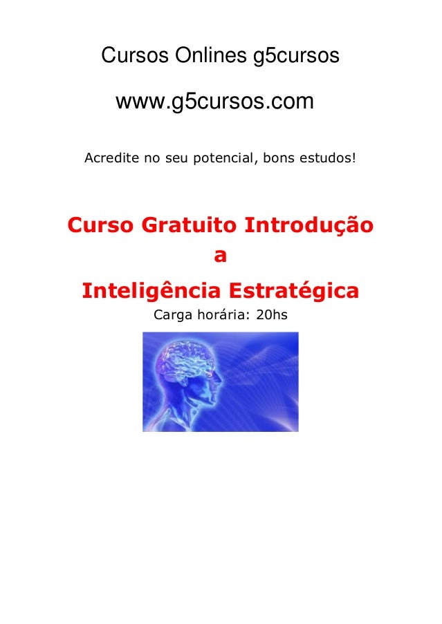 Cursos Online EDUCA www.CursosOnlineEDUCA.com.br Acredite no seu potencial, bons estudos! Curso Gratuito Introdução a Inte...
