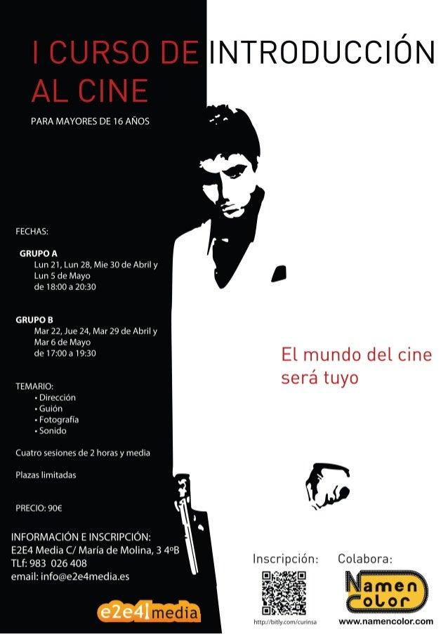 Curso de Introducción al Cine Abril 2014