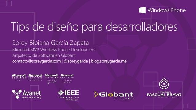 contacto@soreygarcia.com   @soreygarcia   blog.soreygarcia.me