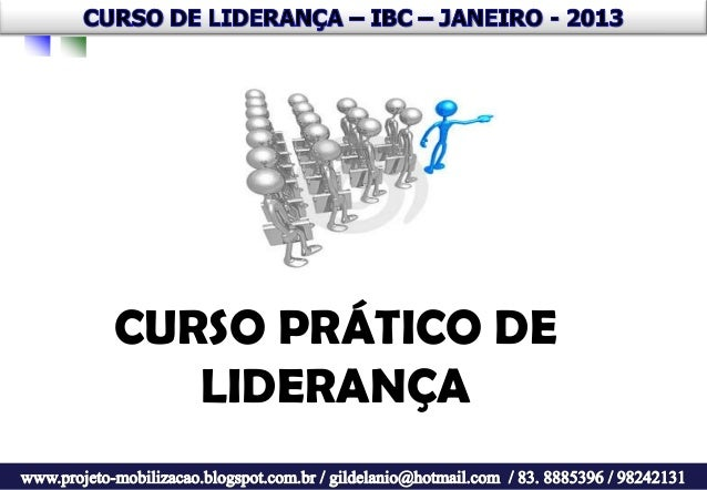 CURSO PRÁTICO DE   LIDERANÇA