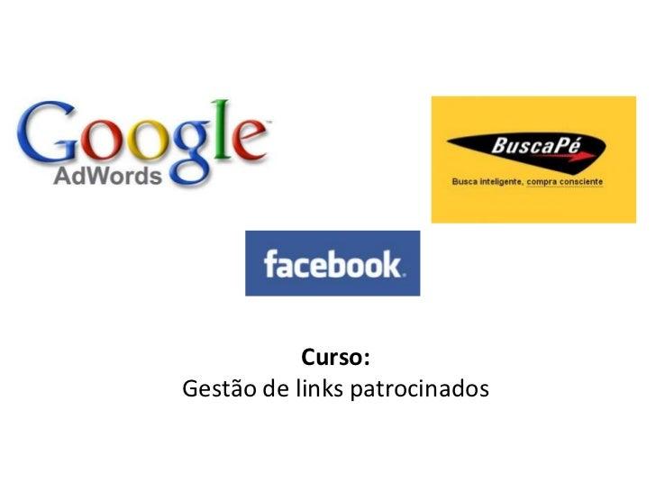 Curso:Gestão de links patrocinados