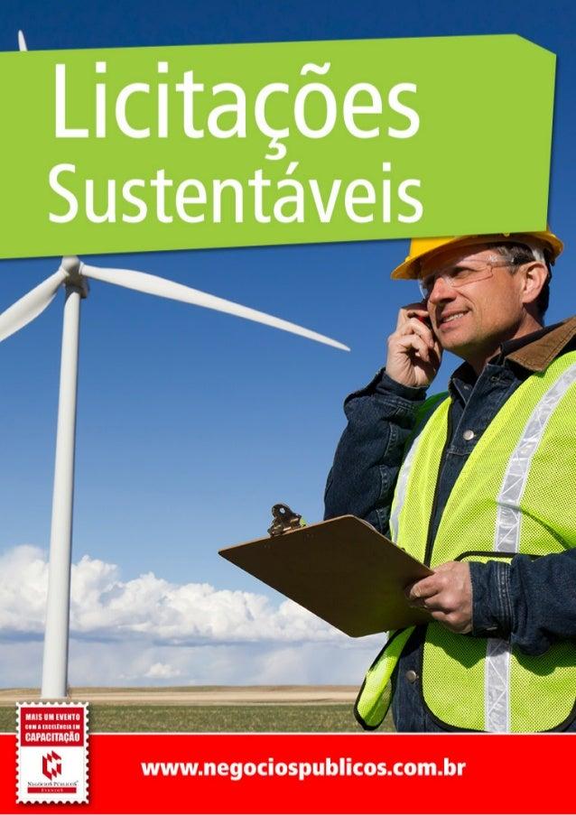 Licitações Sustentáveis  Rio de Janeiro - RJ  29 e 30 de Novembro de 2012  Jander Leal dos SantosOBJETIVO                 ...