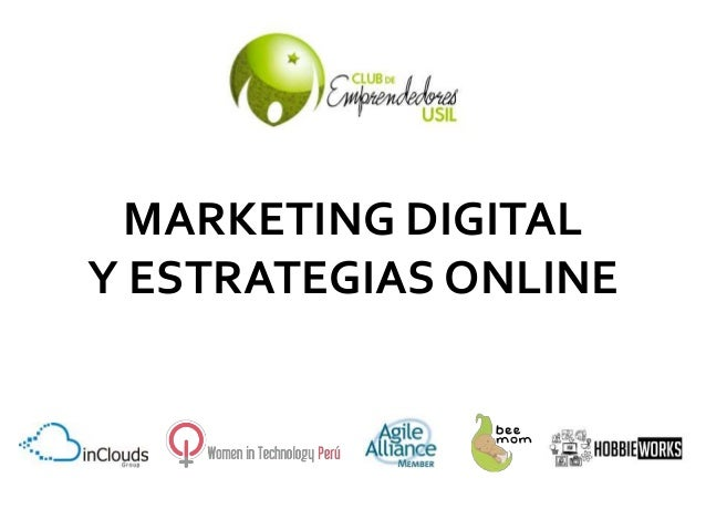MARKETING DIGITAL  Y ESTRATEGIAS ONLINE