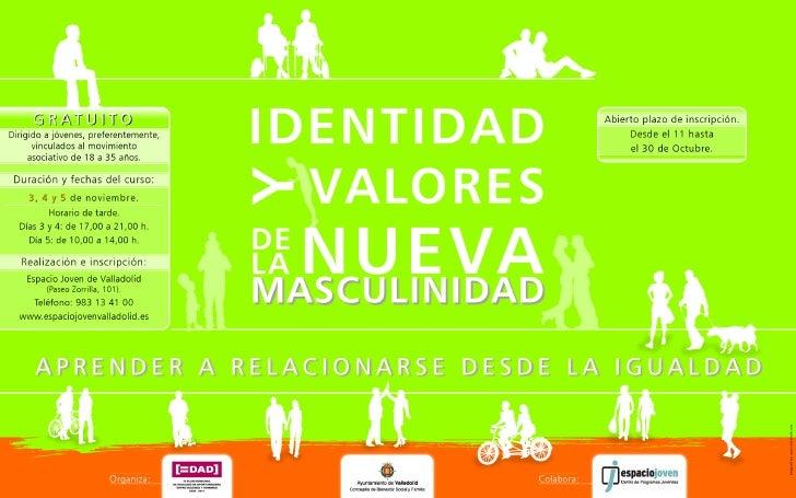 Identidad y valores de la nueva masculinidad
