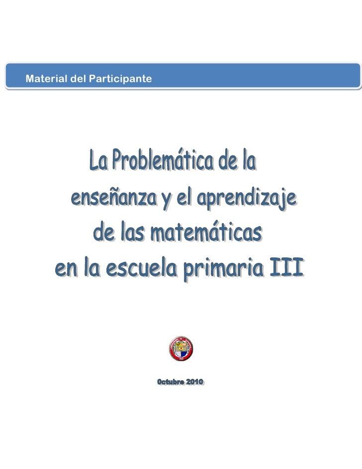 Material del Participante
