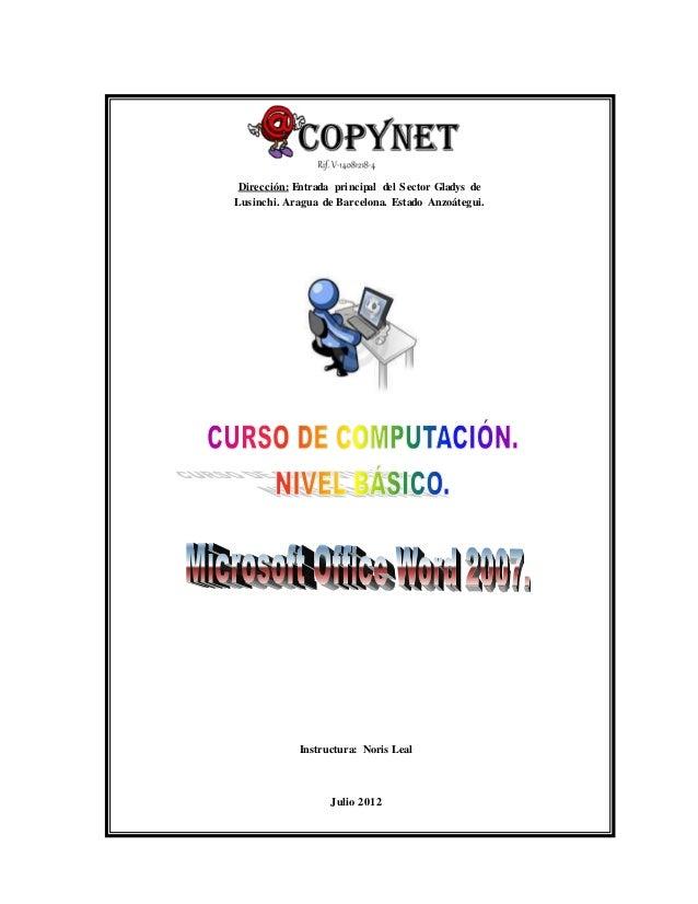 Dirección: Entrada principal del Sector Gladys de  Lusinchi. Aragua de Barcelona. Estado Anzoátegui.  Instructura: Noris L...