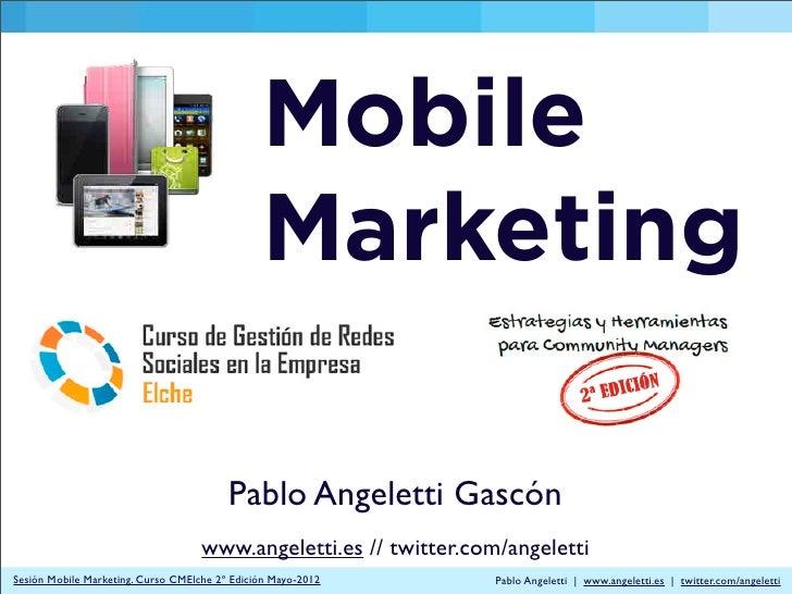 Mobile                                               Marketing                                         Pablo Angeletti Gas...
