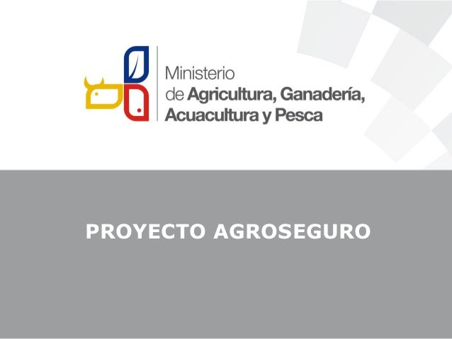 PROYECTO AGROSEGURO