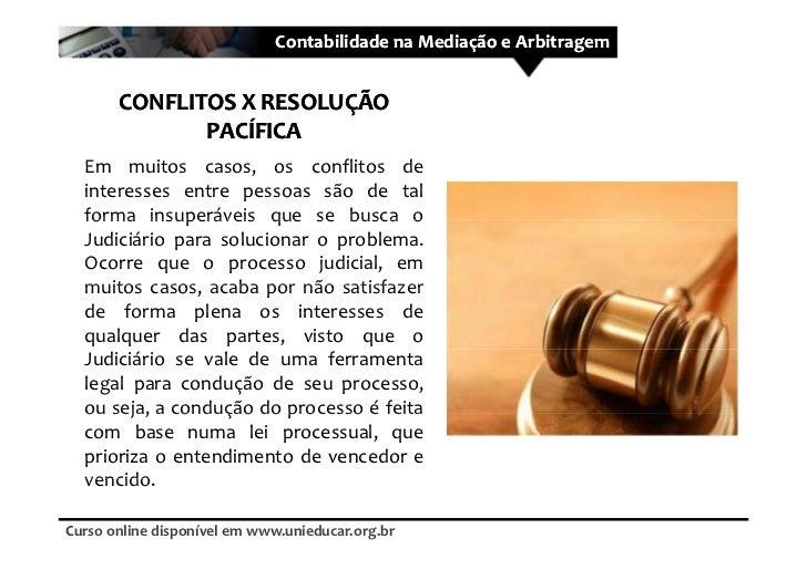 Curso mediacao e arbitragem