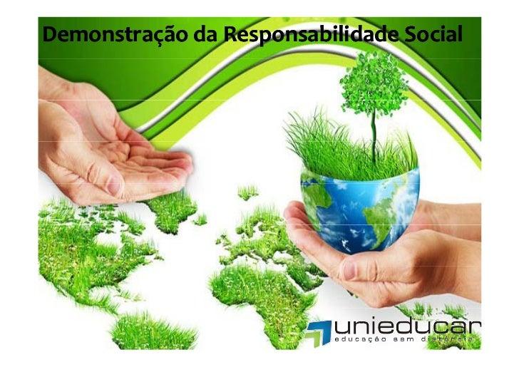 DemonstraçãodaResponsabilidadeSocial