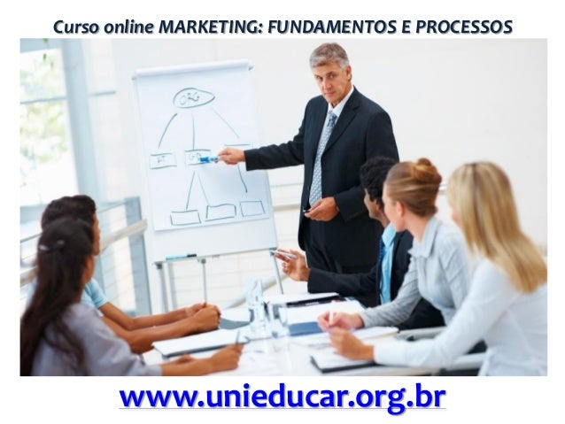 Curso online MARKETING: FUNDAMENTOS E PROCESSOS  www.unieducar.org.br