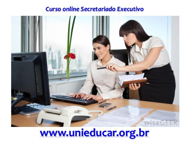 Curso online Secretariado Executivo www.unieducar.org.br