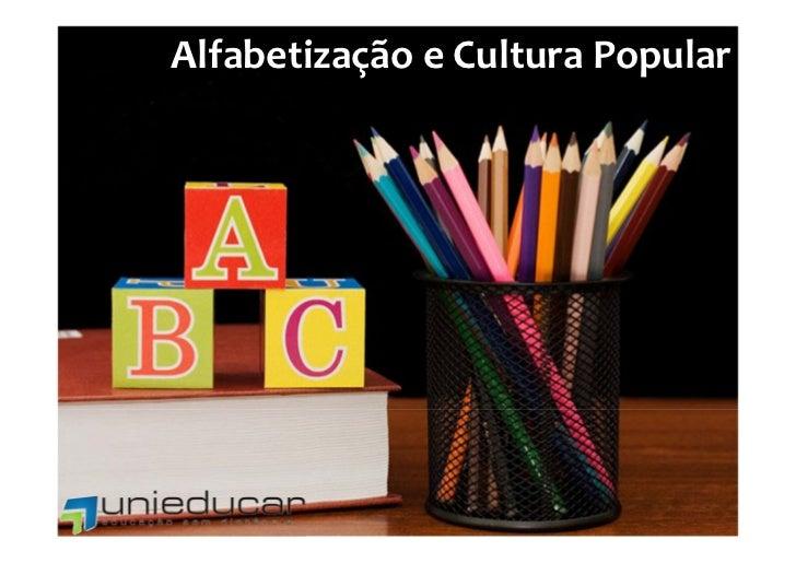 AlfabetizaçãoeCulturaPopular