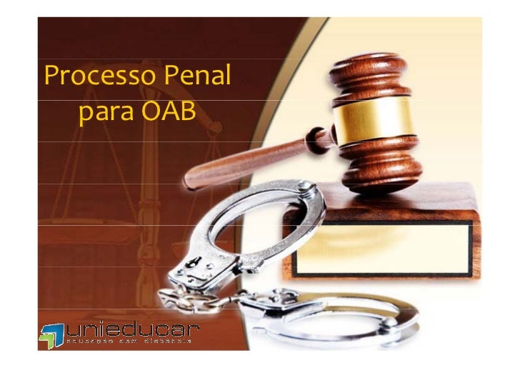 ProcessoPenal  paraOAB