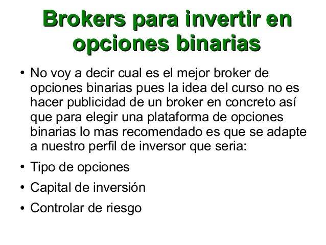 Invertir opciones binarias 2018