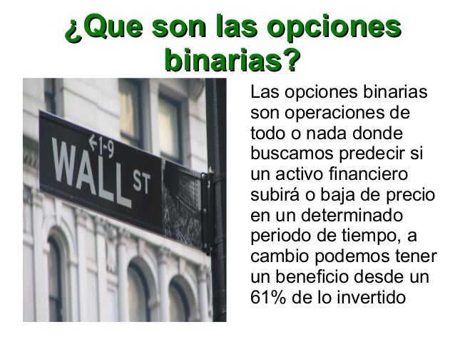 Curso de opciones binarias pdf