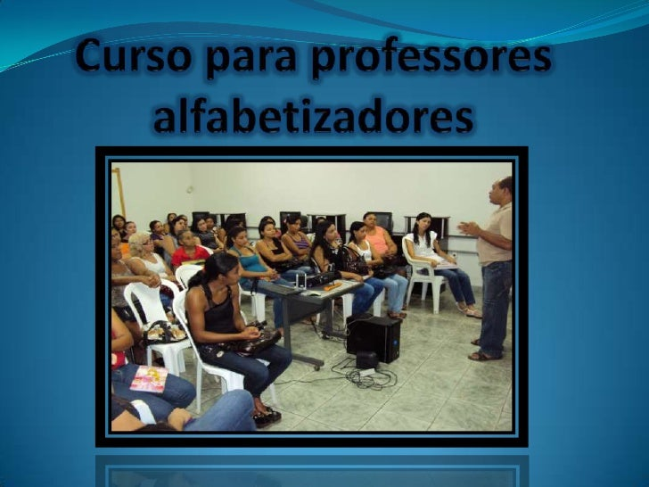 Cursopara professores alfabetizadores<br />