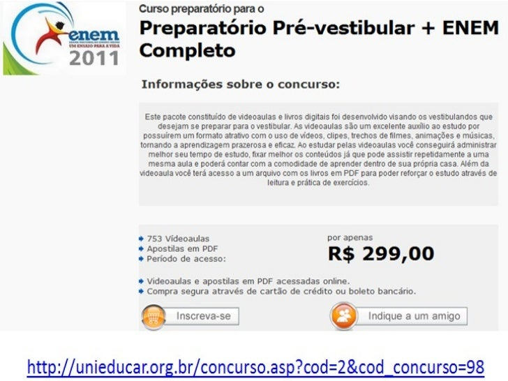 2011 BAIXAR ENEM CONTEUDO PROGRAMATICO