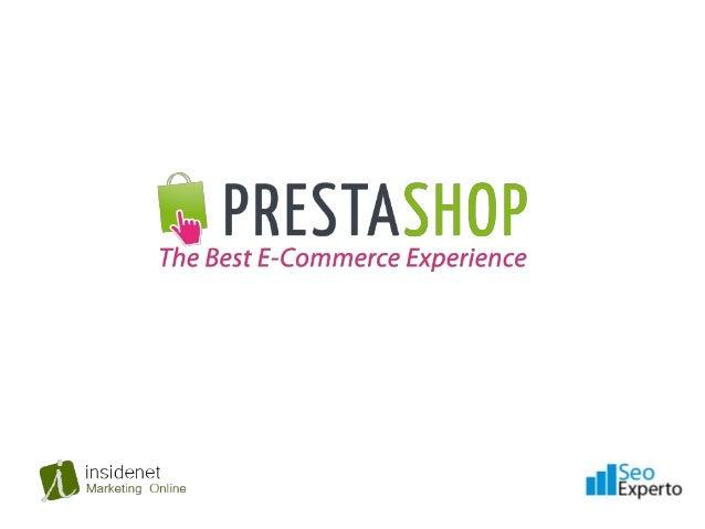 Prestashop es una solución de comercio electrónicode código libre. Es compatible con pasarelas de pagocomo Google Checkout...