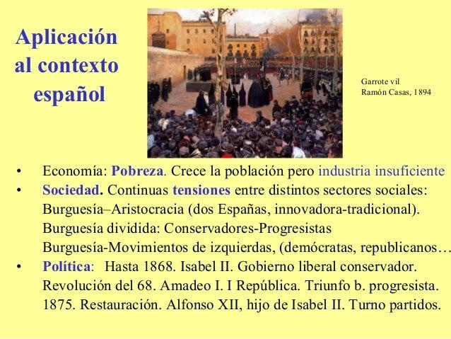 Aplicaciónal contexto                                                        Garrote vil  español                         ...