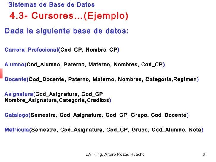 Cursores Slide 3