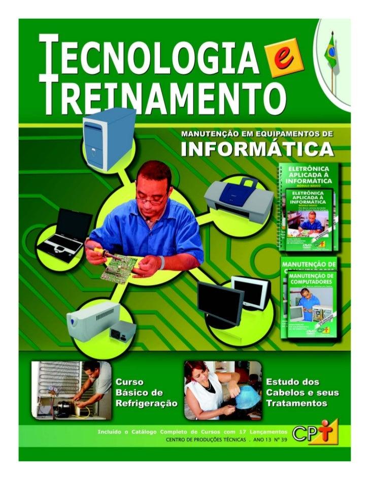 TECNOLOGIA E TREINAMENTO No 38 - CPT                                       1