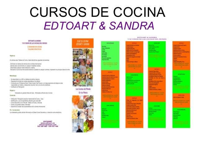 Cursos de cocina edtoart sandra - Cursos de cocina sabadell ...