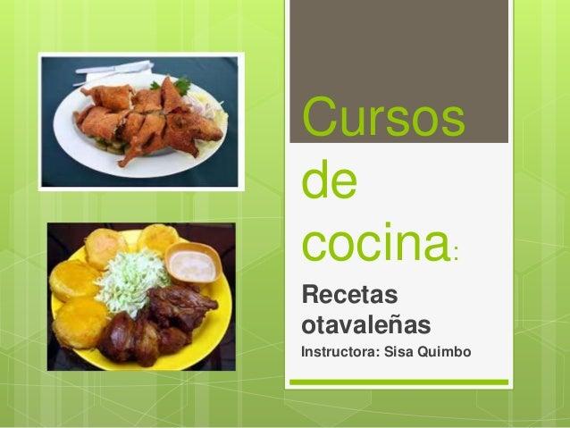 Cursos de cocina - Cursos de cocina en ciudad real ...
