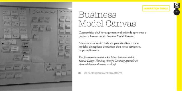 Business Model Canvas 3h CAPACITAÇÃO NA FERRAMENTA Curso prático de 3 horas que tem o objetivo de apresentar e praticar a ...