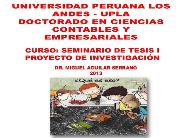 DR. MIGUEL AGUILAR SERRANO 2013