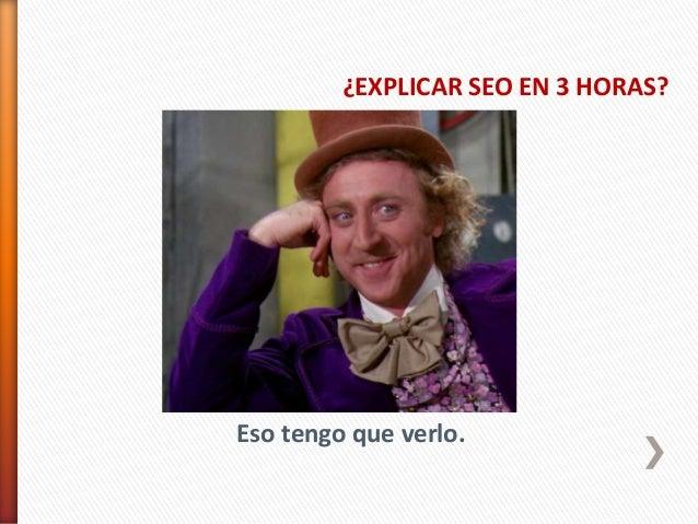 Curso SEO Servicio Navarro de Empleo 2014 Slide 2