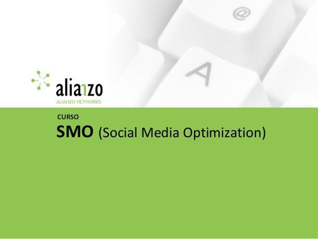 SMO (Social Media Optimization) CURSO