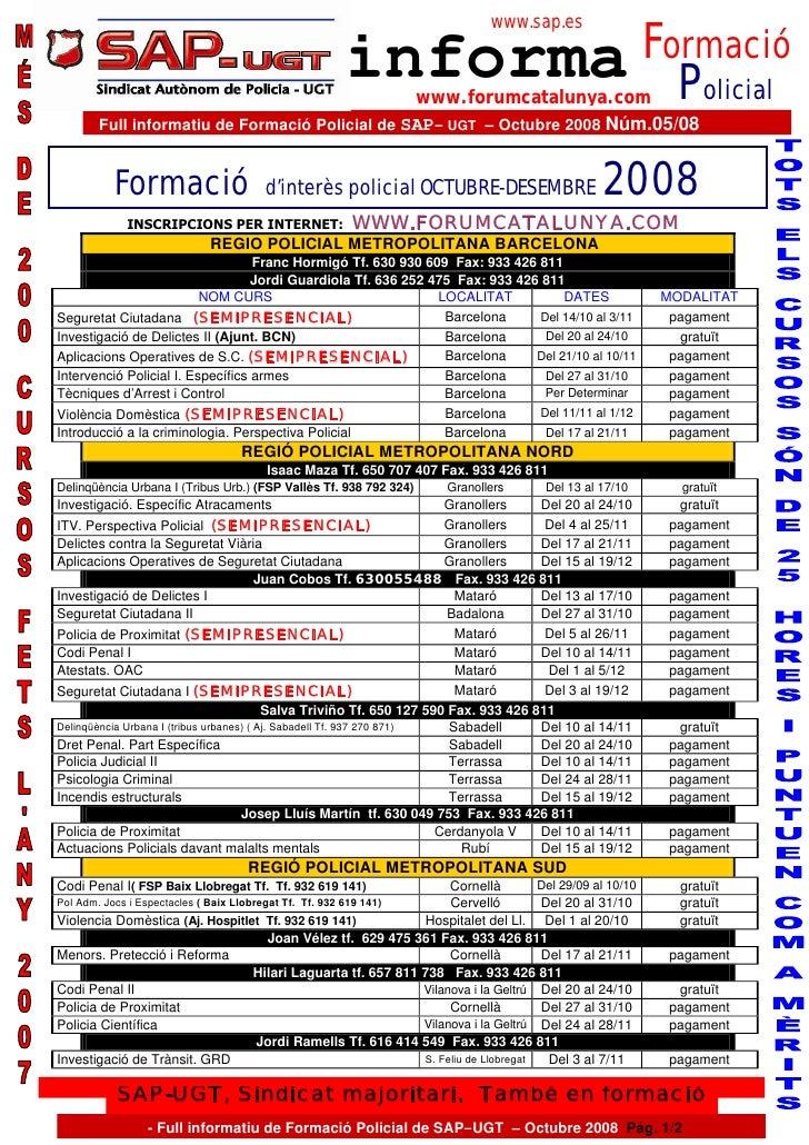 www.sap.es                                                                 Formació                                       ...