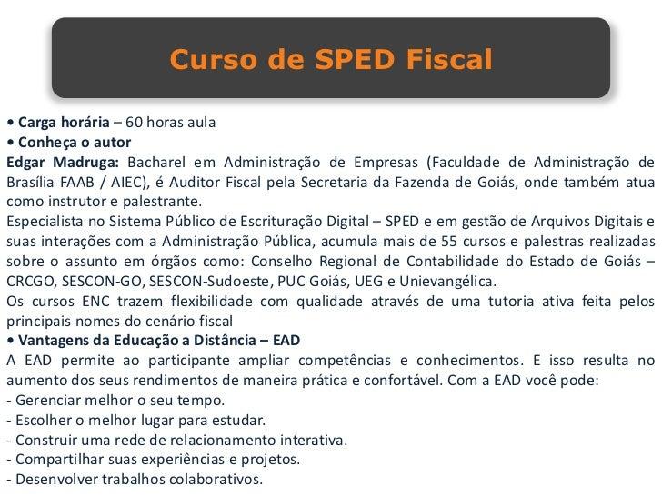 Curso sped fiscal